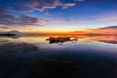 La barca del pescatore Fotografia Stock