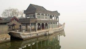 La barca di marmo Fotografie Stock Libere da Diritti