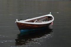 La barca di vecchio Lofoten Fotografie Stock