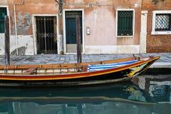 La barca di Venezia Fotografia Stock