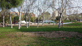 La Barcellona-Spagna 27 marzo 2017 - parco di Ciutadella, bello da Fotografia Stock