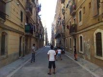 La Barceloneta, Barcelona Royaltyfri Foto