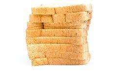 La barra de pan del corte Imagen de archivo libre de regalías