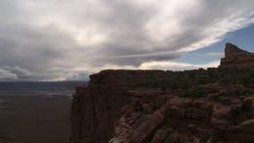 La barranca aterriza el parque nacional almacen de video