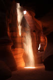 La barranca famosa del antílope en Arizona, los E.E.U.U. Foto de archivo libre de regalías