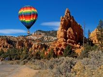 La barranca roja en Utah imagen de archivo