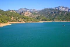 La barranca verde es Turquía Imagen de archivo