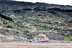 La barre de désert, Parker, Arizona, Etats-Unis Photo stock