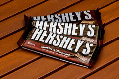 La barre de Hershey Photographie stock