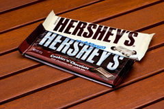 La barre de Hershey Images stock