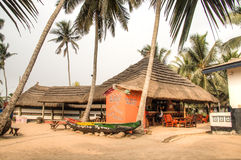 La barre et le restaurant de grand Milly dans Krokobite, Accra, Ghana Photo stock