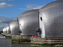 La barrera de Thames Imagenes de archivo