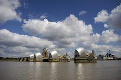 La barrera de Thames en Londres Fotografía de archivo