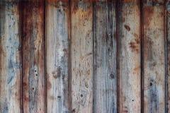 La barrière en bois lambrisse la texture images libres de droits