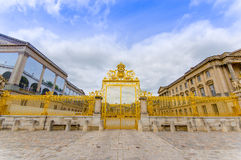 La barrière royale, reconstituée en 2009, Versailles Image stock