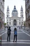La basílica Budapest de St Stephen Foto de archivo libre de regalías