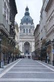La basílica Budapest de St Stephen Fotografía de archivo libre de regalías
