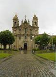 La basílica Congregados en el centro de Braga, Portugal el 24 de abril de 2015 Fotos de archivo libres de regalías