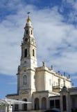 La basílica de Nossa Senhora hace a Rosario Sanctuary de Fatima Portugal Imagen de archivo libre de regalías