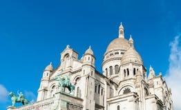 La basílica de Sacré-Coeur Fotografía de archivo libre de regalías