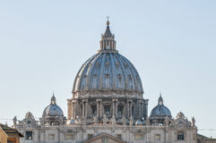 La basílica de San Pedro en la Ciudad del Vaticano, Italia Foto de archivo