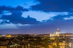 La basílica de San Pedro en la Ciudad del Vaticano, Italia Fotografía de archivo libre de regalías