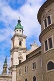 La basílica de San Pedro en Salzburg Imágenes de archivo libres de regalías