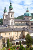 La basílica de San Pedro en Salzburg Imagen de archivo libre de regalías