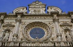 La basílica de Santa Croce Fotografía de archivo libre de regalías