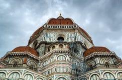 La basílica de St Mary de la flor en Florencia, Italia fotos de archivo libres de regalías
