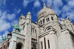 La basílica del corazón sagrado de París Fotos de archivo libres de regalías