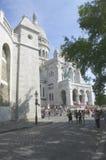 La basílica del corazón sagrado en París Imagen de archivo