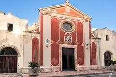La basílica del mártir de Antioco del ` de Sant, Cerdeña, Italia fotografía de archivo