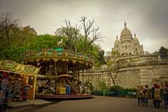 La basílica del Saint Pierre en Montmartre, París Fotografía de archivo
