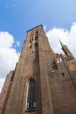 La basílica Gdansk de St Mary Imagen de archivo libre de regalías