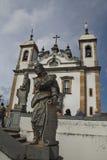 La basílica hace Senhor Bom Jesús de Matosinhos Fotos de archivo
