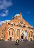 La basílica pontifical de St Anthony de Padua Imágenes de archivo libres de regalías