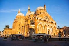 La basílica pontifical de St Anthony de Padua Fotografía de archivo libre de regalías