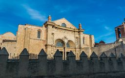 La basílica Santo Domingo Fotografía de archivo
