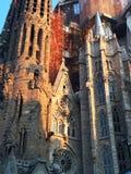 La basílica y la iglesia expiatoria de la familia santa (Sagrada Familia) Imagenes de archivo