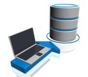 La base de datos conecta Fotos de archivo libres de regalías