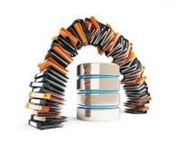 La base de datos informatizada substituirá las carpetas clásicas bajo la forma de arco Imágenes de archivo libres de regalías