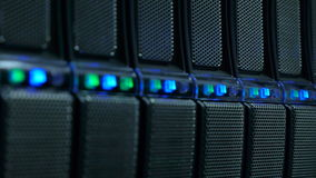 La base de données d'interface rendent dedans la ferme banque de vidéos