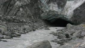 la base del glaciar de Francisco José almacen de metraje de vídeo