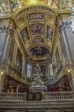 La Basiilica di Nostra夫人delle Vigne在热那亚,意大利 库存图片