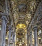 La Basiilica di Nostra夫人delle Vigne在热那亚,意大利 免版税库存照片