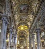 La Basiilica Di Nostra Signora delle Vigne in Genua, Italië Royalty-vrije Stock Foto's