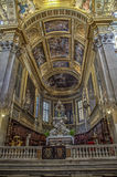 La Basiilica di Patentlösning Signora delle Vigne i Genua, Italien Fotografering för Bildbyråer