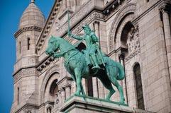 La basilica del cuore sacro di Gesù su Montmartre a Parigi Immagine Stock Libera da Diritti