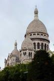 Basilica del cuore sacro di Parigi Immagini Stock Libere da Diritti
